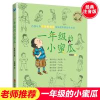一年级的小蜜瓜彩色 注音版正版商晓娜系列书 6-7-8岁儿童读物 小学生一年级课外阅读书籍必读 老师推荐带拼音的男生日