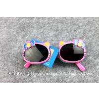 儿童偏光防紫外线太阳眼镜女童翻盖宝宝5岁孩子墨镜