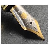 英雄钢笔笔尖笔头大明尖钢笔配件美工尖弯尖通用英雄永生铱金笔尖