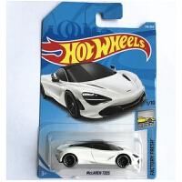 火辣跑车合金模型兰博基尼车模玩具9A9B汽车五辆装 藕色 318迈凯伦720S
