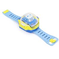 抖音社会人同款警车珀利安巴表带遥控车手表电动儿童玩具迷你汽车 官方标配