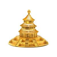 3D立体金属拼装建筑模型-天坛祈年殿 高难度玩具创意生日礼物