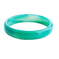 梦克拉 绿玛瑙手镯 幸福一生 玉髓 玛瑙