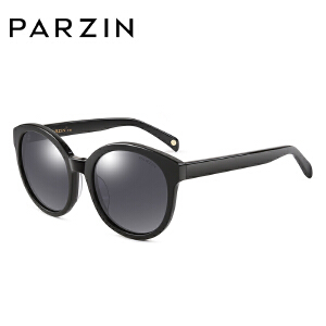 帕森女士复古大框偏光太阳镜 时尚板材眼镜驾驶墨镜9605