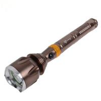 可拆卸户外强光远射充电T6手电筒山地骑行自行车灯