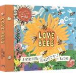 英文原版绘本 Love Bees:A family guide to help keep bees buzzing 精