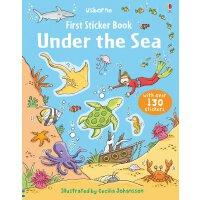 Under the Sea 进口英文原版 宝宝贴纸书:海底世界