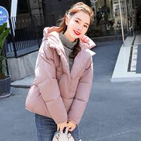 冬季女韩版时尚棉衣学生短款面包服宽松加厚小棉袄外套 S (推荐80-100斤)