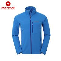 Marmot/土拨鼠春夏户外男防泼水弹力透气耐磨夹克 M3软壳衣