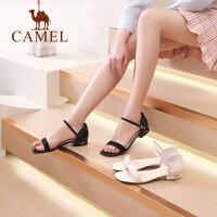 Camel/骆驼2019夏季新款 时尚气质 简约舒适 凉鞋女