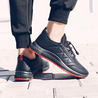 冬季男鞋休闲鞋子男加绒棉保暖新款运动潮流百搭韩版加厚帆布