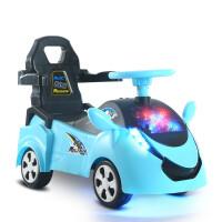 儿童四轮电动车1-3岁宝宝可坐可骑滑行车小孩助步车带音乐玩具车