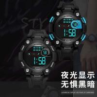 儿童手表男孩防水电子表 多功能夜光跑步运动中小学生手表