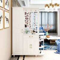 双面玄关柜隔断柜客厅镂空屏风现代简约入户鞋柜间厅柜门厅柜玄关 组装