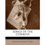 【预订】Songs of the Cowboys