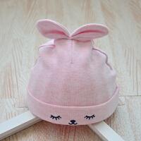 秋冬天新生儿胎帽0-3个月婴儿帽子婴幼儿纯棉初生儿男女宝宝保暖 均码
