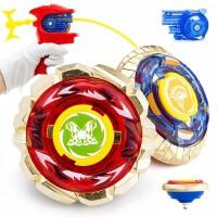 魔幻陀螺儿童玩具男孩金属对战战斗陀螺赤炼狂刀对战合体陀螺