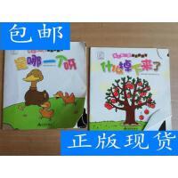 [二手旧书9成新]袋鼠妈妈 婴儿第一套视觉翻翻书:什么掉下来了、