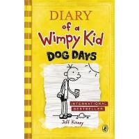 [现货]英文原版 小屁孩日记4 Dog Days 三伏天 Diary of a Wimpy Kid 第四册