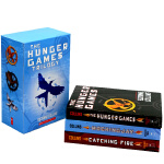 正版 饥饿游戏三部曲 英文原版 The Hunger Games Trilogy 全英文版科幻小说 燃烧的女孩 嘲笑鸟