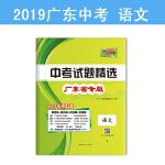 天利38套 广东省中考试题精选 2019中考必备--语文