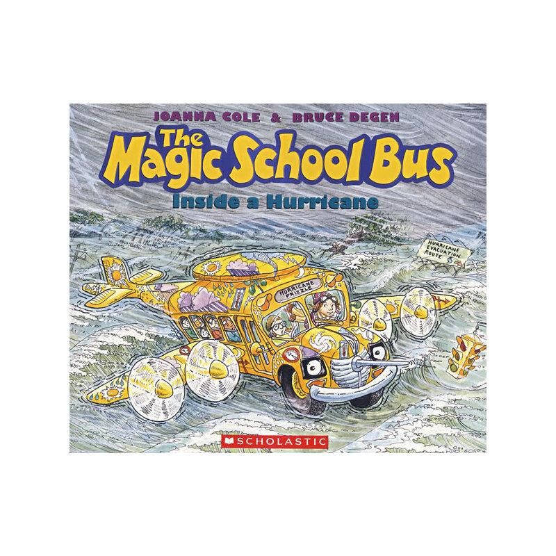 Magic School Bus Inside a Hurricane神奇校车-穿越飓风  9780590446877