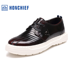红蜻蜓旗下品牌  HONCHIEF男鞋休闲鞋秋冬鞋子男板鞋KTA1008