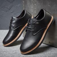 皮鞋男士韩版休闲商务休闲鞋男鞋冬季舒适英伦小皮鞋子驾车鞋
