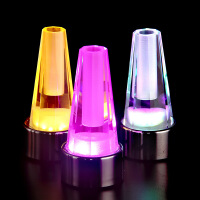 新款创意水晶灯 LED充电台灯 餐厅酒吧装饰插花灯