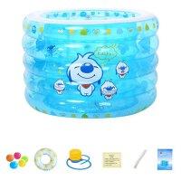 新生婴儿宝宝充气游泳池家用加厚儿童游泳桶池戏水池泡澡桶