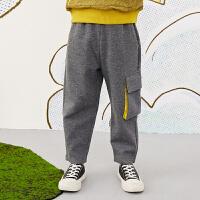 【1件3.5折价:129元】马拉丁童装男大童裤子春装2020年新款休闲运动裤而儿童长裤