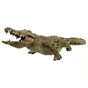 [当当自营]Schleich 思乐 野生动物系列 鳄鱼 仿真塑胶动物模型收藏玩具 S14736