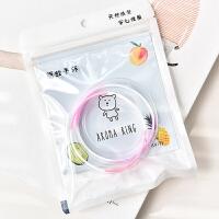 韩国小清新硅胶手环 可爱宝宝婴儿童防蚊米环驱蚊环随身