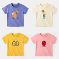 男童T恤夏季上衣宝宝童装体恤小童洋气半袖夏装潮