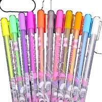 荧光笔 手工diy相册制作配件 书写笔流畅彩笔水粉笔涂鸦笔梦幻彩笔 彩笔 白色
