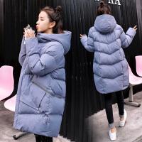 冬季外套韩版宽松棉袄 孕妇棉衣冬装怀孕期孕妇羽绒服女中长款