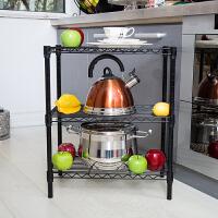 空大厨房置物架微波炉烤炉架落地层架子锅架菜架厨房用品收纳架60*30*60
