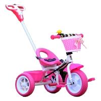 儿童三轮车带推把童车手推车小孩自行车带脚踏车宝宝车1-3-5岁