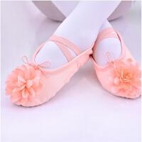 女童演出鞋软底芭蕾舞蹈鞋儿童练功鞋幼儿园表演鞋小孩跳舞鞋