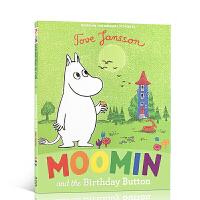 英文原版绘本 Moomin and the Birthday Button 姆明 芬兰著名童话小说绘本图画 托芙・扬松