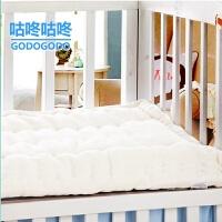 棉花褥子棉絮垫被褥 学生宿舍床褥 加厚儿童幼儿园床垫婴儿单双人