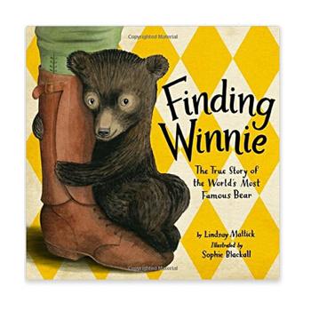 Finding Winnie: The True Story of the World's Most Famous Bear 寻找维尼 2016年凯迪克金奖绘本 精装
