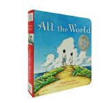 进口英文原版 All the World 看过世界的孩子更强大 【2-7岁】