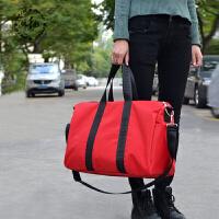 男士旅行包行李袋大容量行李包女韩版旅行袋健身包装衣服的包出差、手提包 大