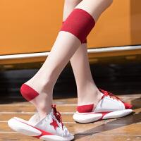 小腿袜女夏季薄款日系水晶透明卡丝袜子女中长筒学院风及膝高筒袜