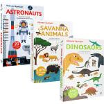 英文原版 法国Twirl出版社 Ultimate Spotlight系列 4册 Savanna Animals/Ast