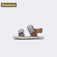 巴拉巴拉儿童凉鞋男童鞋子中大童沙滩鞋2019新款夏季罗马越南鞋潮