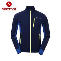 【开学季】Marmot/土拨鼠户外运动男士防风透气防泼水透气神衣外套
