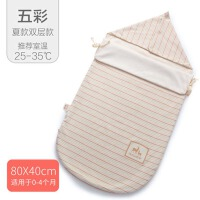 秋冬季厚外出棉新生儿包巾襁褓四季包被婴儿抱被初生睡袋两用