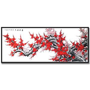 中国美术家协会会员 孔庆义3.6米精品《梅花》JXFT501